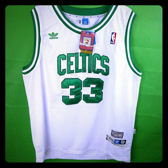 buy popular 34297 54f09 Mens Authentic Adidas Celtics Jersey NWT